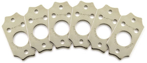 Graph Tech Ratio InvisoMatch Premium Mounting Plates for Gibson Screw Hole Qty 6 - Ant Hill Music