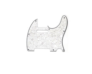 Ant Hill Music 8-Hole 2 Ply BLK to WHT Pearl Pickguard Fits Import Telecaster - Ant Hill Music