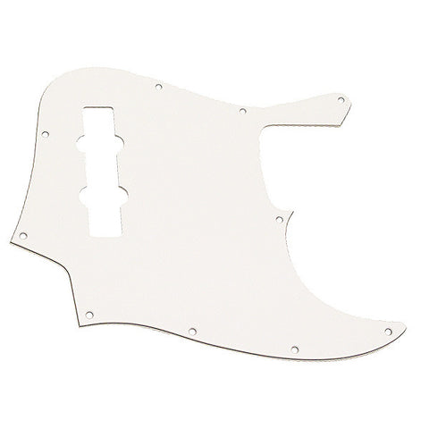 Ant Hill Music 10-Hole 3 PlyW/B/W Pickguard Fits US/MEX 4 String Jazz Basses