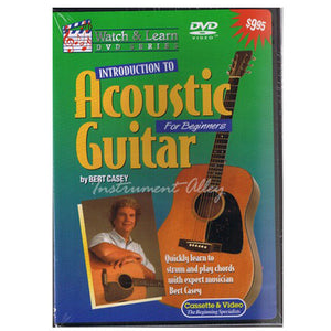 Introduction to Acoustic Guitar DVD - Ant Hill Music