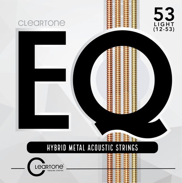 Cleartone EQ Hybrid Metal Acoustic Guitar Strings 12-53 - Ant Hill Music