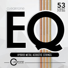 Cleartone EQ Hybrid Metal Acoustic Guitar Strings