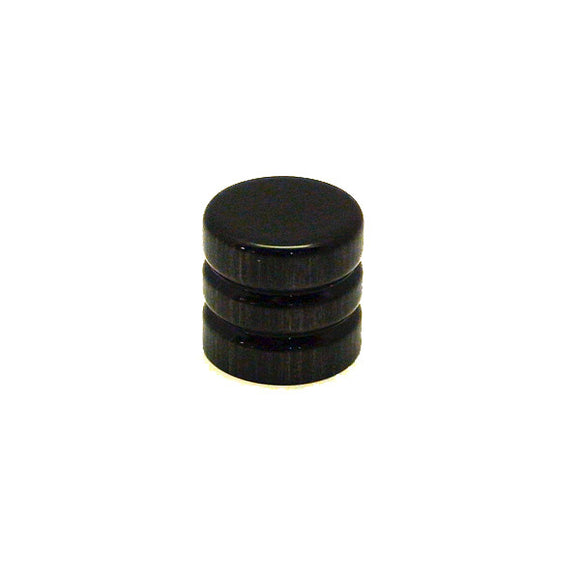 Ant Hill Music Wooden Guitar Knob Root beer Barrel Style Brushed Black Pattern - Ant Hill Music