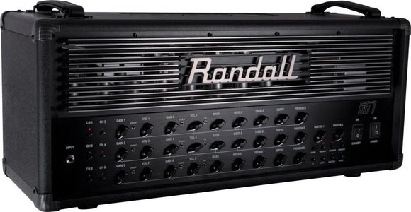 Randall 667 120 Watt 6-Channel Electric Guitar Tube Amplifier Head B-Stock