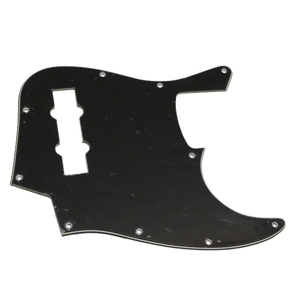 Ant Hill Music 10-Hole 3 Ply B/W/B Pickguard Fits Import 4 String Jazz Basses - Ant Hill Music