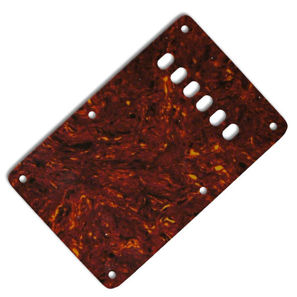 Ant Hill Music Stratocaster Backplate 3-Ply Tortoise Shell Color - Ant Hill Music