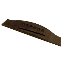 Ant Hill Music Acoustic Guitar Bridge Made of Rosewood 2 6/32 String Spacing