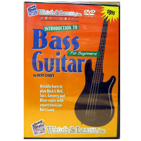 Introduction To Bass Guitar DVD For Beginners