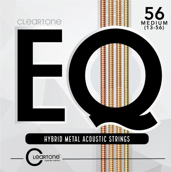 Cleartone EQ Hybrid Metal Acoustic Guitar Strings 13-56 - Ant Hill Music