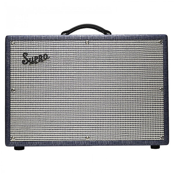 Supro 1650RT Royal Reverb 2x10 Amplifier Tube/Solid State 35-60 Watts Switchable