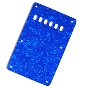 Ant Hill Music Stratocaster Backplate 3-Ply Blue Pearl - Ant Hill Music