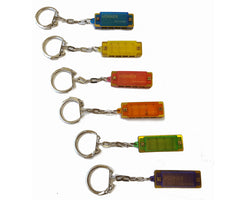 Hohner Mini Harmonica Keychain Translucent Colors