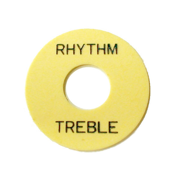 Ant Hill Music LP Style Electric Guitar Rhythm Treble Toggle Switch Ring Cream - Ant Hill Music