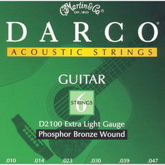 Darco Phosphor Bronze Acoustic Guitar Strings Extra Light 10-47 - D2100