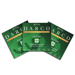 Darco 80/20 Bronze 12-String Acoustic Guitar Strings XL 10-47 D5400 - 3 Packs