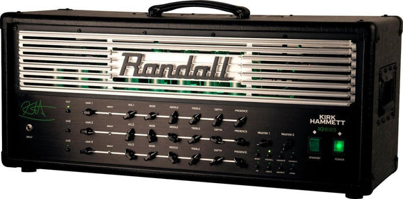 Randall Kirk Hammett Signature 120 Watt 3-Channel Tube Guitar Amp Head B-Stock