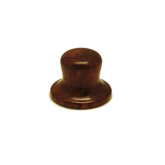 Ant Hill Music Wooden Guitar Knob Top Hat Style with Classic Oak Grain Pattern