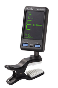 Cherub Chromatic Tuner for Wind & String Instruments Clip-on Multi-Mode WTS-650C - Ant Hill Music