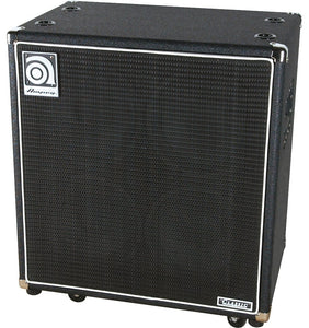 "Ampeg 500-Watt Bass Cabinet 4x10"" Bass Cabinet with 1/4"" and Speakon Inputs - Ant Hill Music"