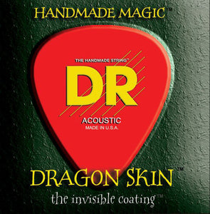 DR Strings Dragon Skin Phos. Bronze Acoustic Guitar Strings Med Heavy 13-56 - Ant Hill Music