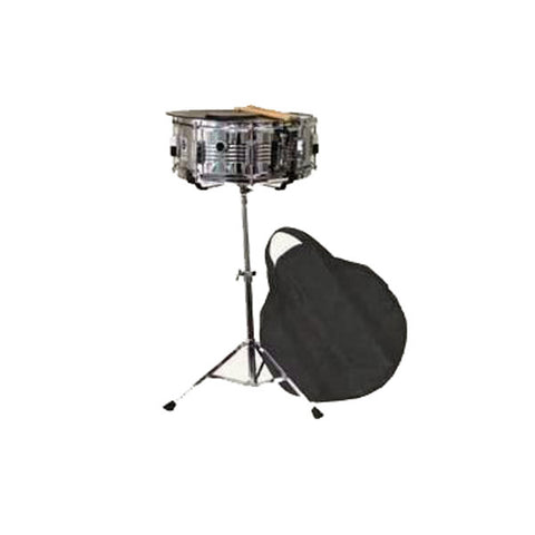 Snare Drum Kit W/stand Practice Pad Gig Bag & Sticks