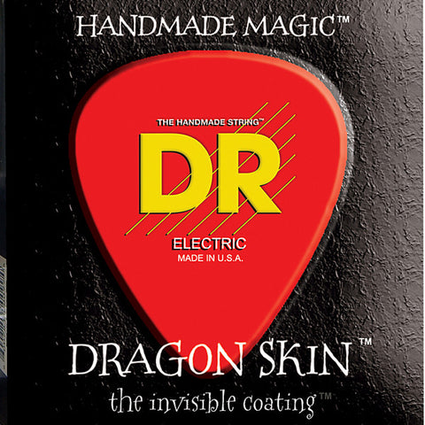 DR Strings Dragon Skin Electric Guitar Strings Light Gauge 9-42 DSE-9
