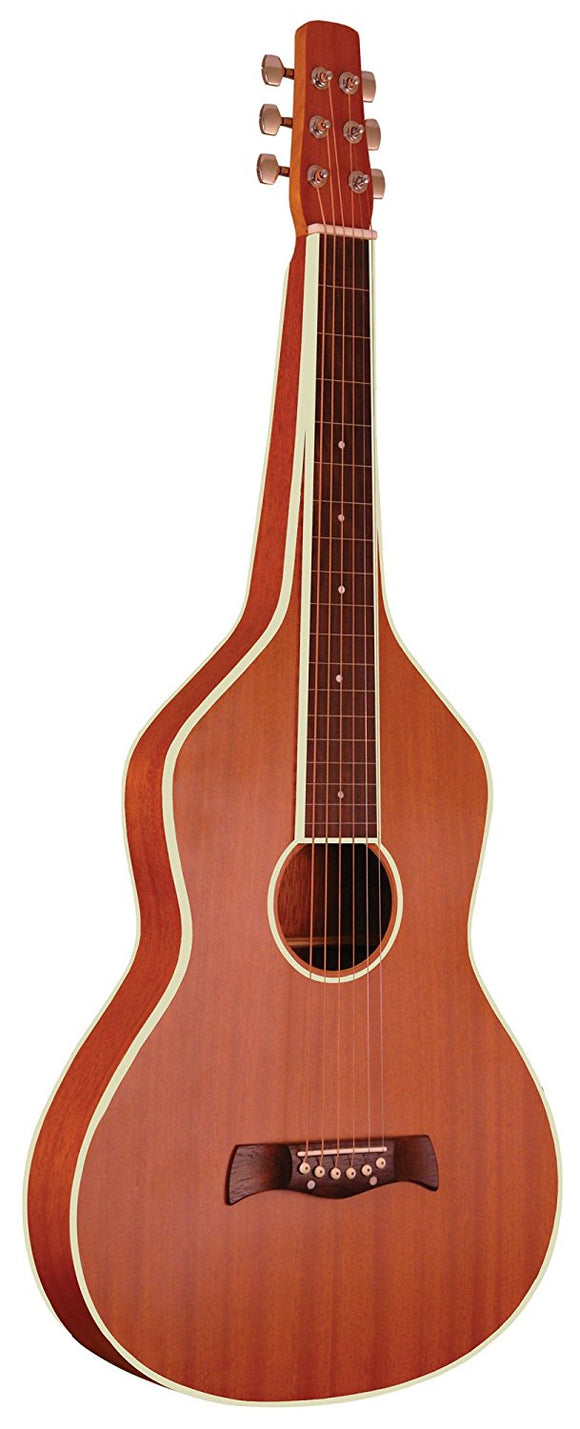 Gold Tone GT-Weissenborn Hawaiian-Style Slide Guitar Natural Color with Gig Bag