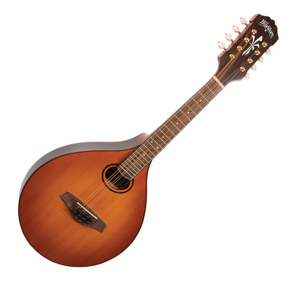 Washburn Timeless Collection Celtic A4 Mandolin Top Made of 140+ yr old European fir includes hardshell case