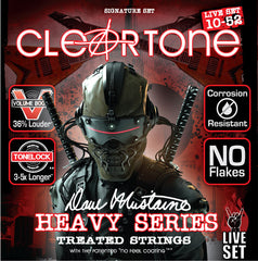 Cleartone Dave Mustaine Signature Guitar Strings Live Set 10-52 Gauge DML9520
