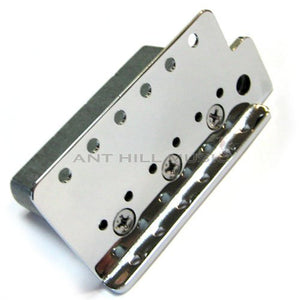 Fender BIG BLOCK Bridge Plate and Block fits Right Handed 2 3/16 String Spacing - Ant Hill Music