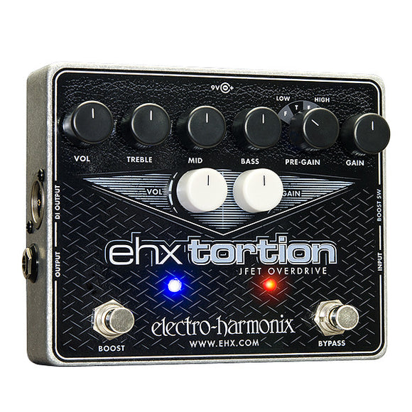 Electro-Harmonix EHX Tortion JFET Ovedrive w/ Direct Out XLR and Boost Switching
