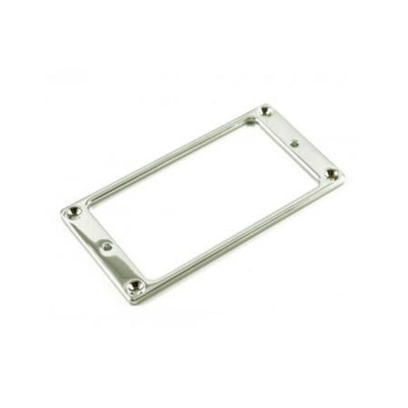 WD Music - Metal Humbucker Pickup Mounting Ring -  Chrome - ES16C