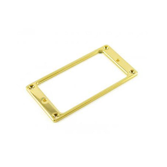 WD Music - Metal Humbucker Pickup Mounting Ring -  Gold - ES16G
