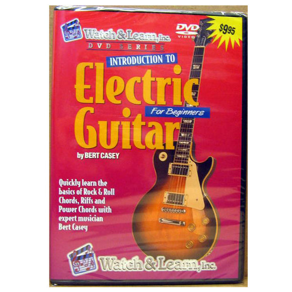 Introduction To Electric Guitar DVD Watch & Learn Video - Ant Hill Music