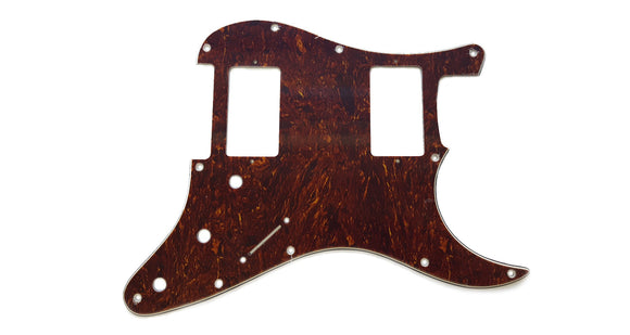 Ant Hill Music Stratocaster Pickguard 11 Hole 3ply HH Tortoise fits US/MEX Strat - Ant Hill Music