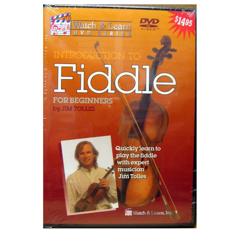 Introduction To Beginner Fiddle DVD