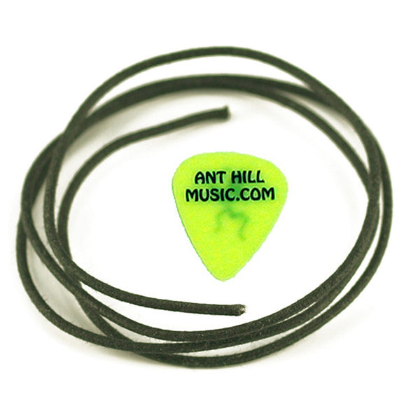 Ant Hill Music Wire Pak Gavitt Vintage Cloth Wire Black Push-back Insulation 1FT - Ant Hill Music