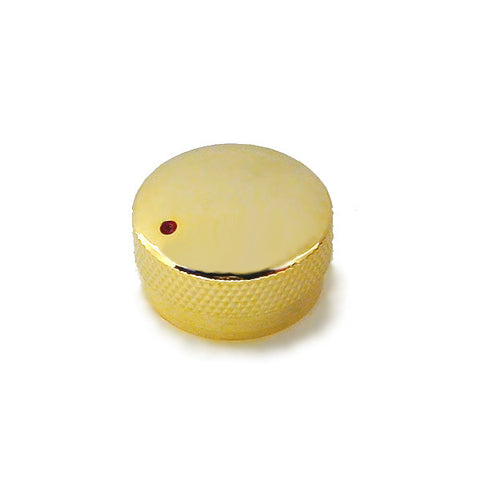Ant Hill Music Guitar Control Speed Knob in Gold with Red Dot Indicator