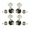 Ant Hill Music Bass Guitar Tuning Machines 2x2 21:1 Ratio Chrome