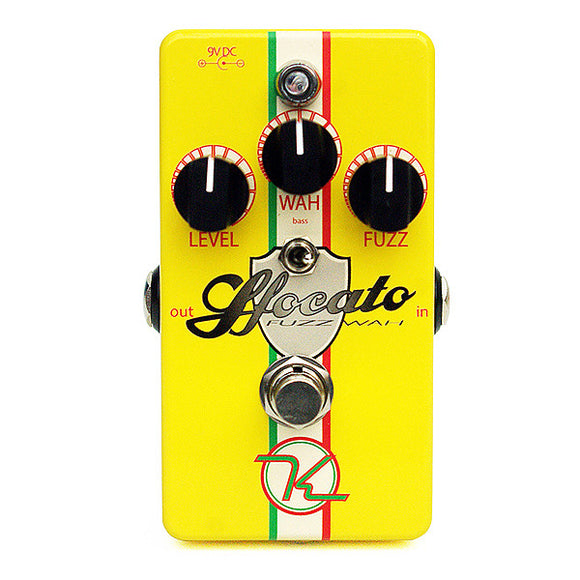 Keeley Electronics Sfocato Fuzz Wah Dual Effects Pedal for Electric Guitar KSFOC