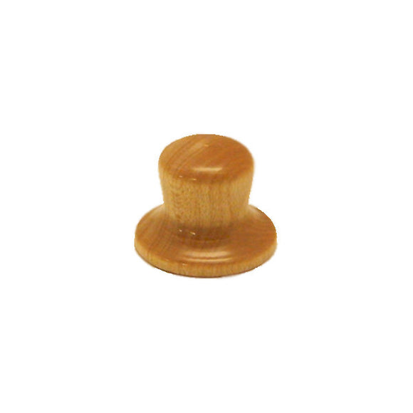 Ant Hill Music Wooden Guitar Knob Top Hat Style with Classic Pine Grain Pattern - Ant Hill Music