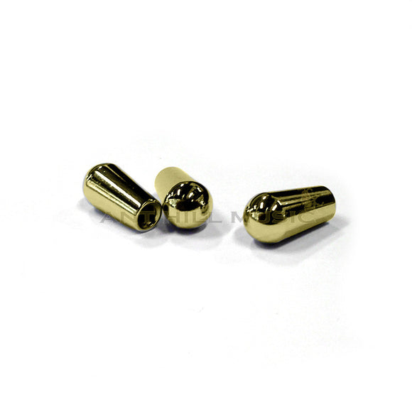 Mighty Mite Switch Tip Knobs for Les Paul - Gold - Ant Hill Music