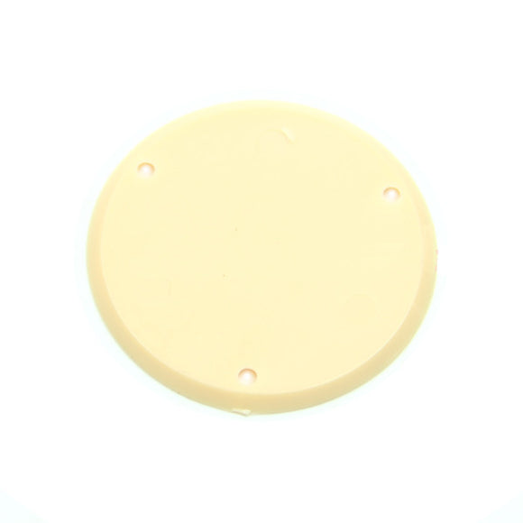 Mighty Mite LP Style Rear Toggle Switch Cover Shielded Cream MM5607CR