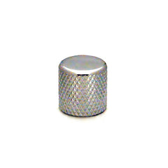 Ant Hill Music Audio Control Knob Flat Top Chrome Fits Alpha Split Shaft