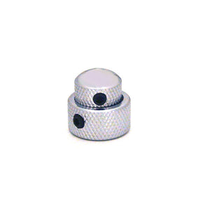 Ant Hill Music Amplifier Concentric Control Knob set in Chrome with Set Screws
