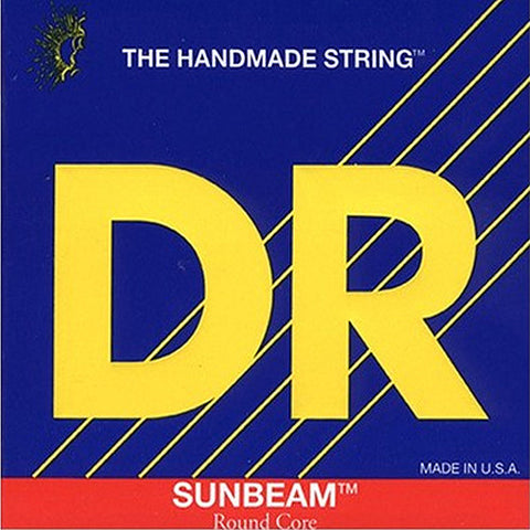 DR Strings - SUNBEAMS - Bass Guitar Strings - Medium - 5 String  NMR5-45  45-125