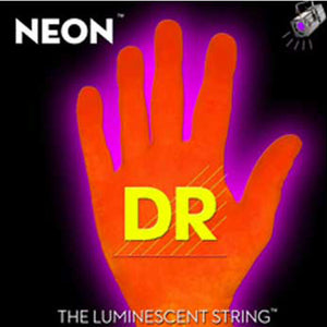 DR Strings - NEON - HI-DEF-ORANGE - Electric 7 String Guitar - Lite NOE7-9 9-52 - Ant Hill Music