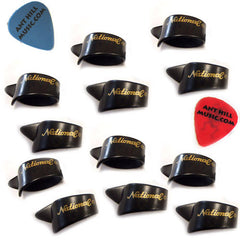 National Celluloid Thumb Picks - 12 Pack - Large + Ant Hill Music Pick