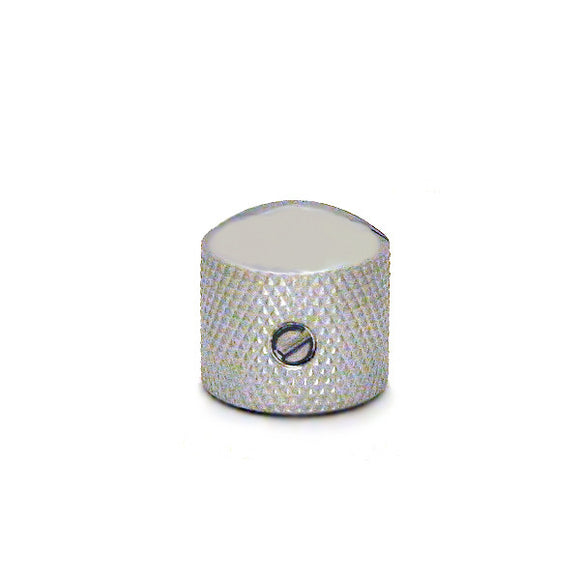 Ant Hill Music Guitar Control Knob Large Dome Top Chrome Fits Split/Solid Shaft - Ant Hill Music