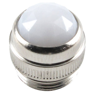 Indicator Lamp Jewel Fits Fender Amps and More - White - Ant Hill Music